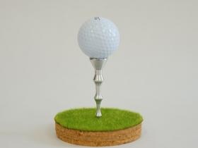 オリジナルゴルフティー 材質:アルミ