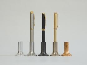ペン立て 材質:アルミ、鉄、リン青銅